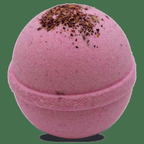 Amber Rose Petal bath Bomb by CBD Oil Botanicals